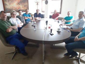 """Састанак Синдикалног одбора """"КОСМОС"""" а.д Бањалука у проширеном саставу"""