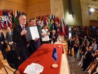 108. засједање Међународне конференције рада, усвојена Конвенција бр. 190, и припадајућа Препорука, о сузбијању насиља и узнемиравања у свијету рада