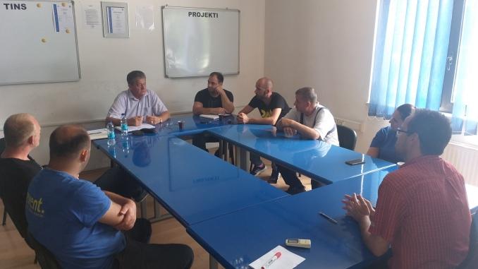 Сједница синдикалног одбора ПРЕВЕНТ д.о.о. Сребреница у проширеном саставу