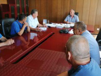 """Sastanak sindikalnog odbora """"METALNO"""" a.d. Zvornik sa direktorom preduzeća"""