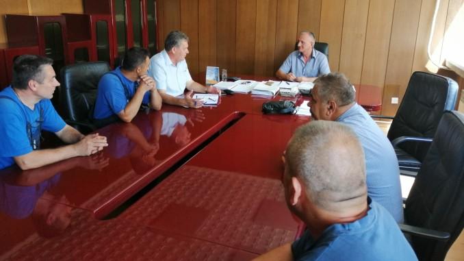 """Састанак синдикалног одбора """"МЕТАЛНО"""" а.д. Зворник са директором предузећа"""