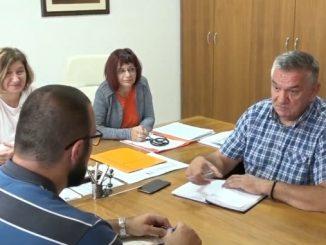 Predsjednik Sindikata zdravstva i socijalne zaštite Milenko Granulić u radnoj posjeti Domu zdravlja u Prijedoru