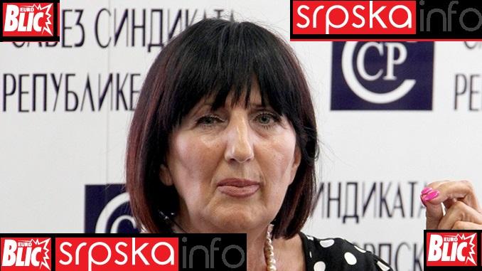 Ranka Mišić za SRPSKAINFO: Očekujemo da Vlada Srpske sama poveća najnižu platu