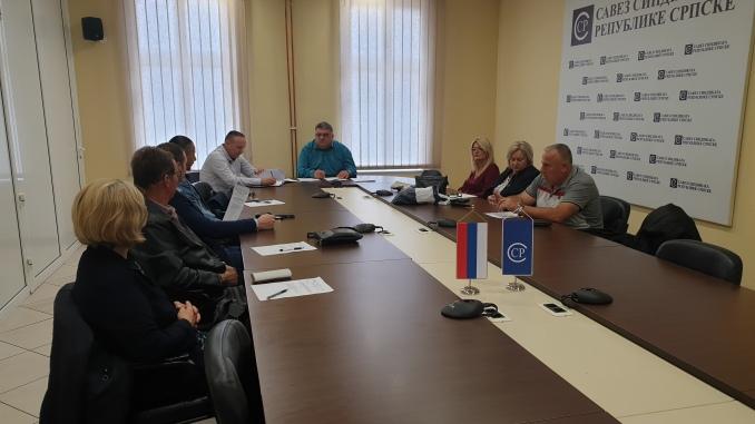 Sjednica izvršnog odbora Sindikata obrazovanja, nauke i kulture Republike Srpske