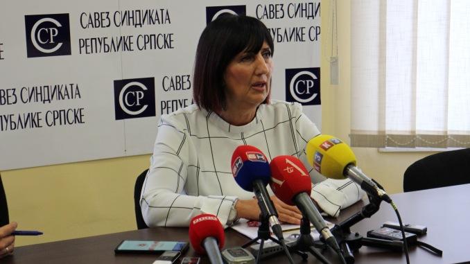 Ranka Mišić: Nastavljamo borbu za povećanje plata u Republici Srpskoj