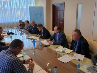 Predstavnici Sindikata lokalne samouprave, uprave i javnih službi RS u Vladi RS na pregovorima o povećanju plata