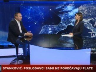 Горан Станковић за АТВ: Желимо повећање плата и у приватном и у јавном сектору
