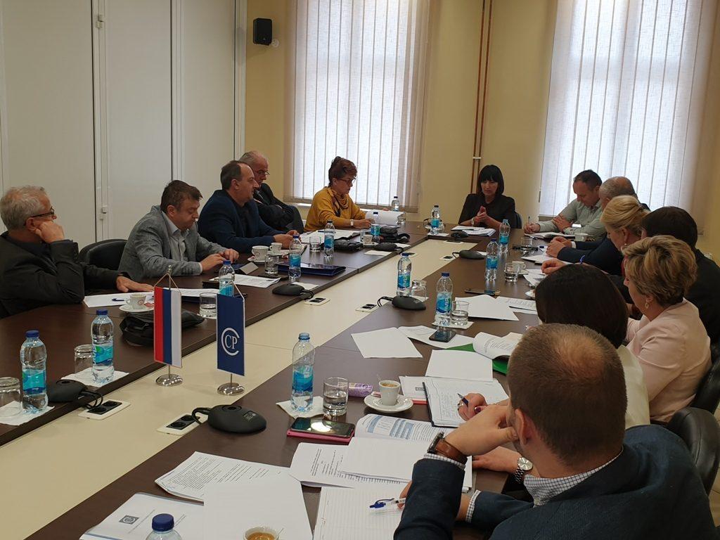 Састанак у Савезу синдиката РС са министрима у Влади РС