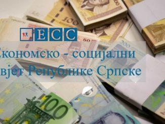 Ekonomsko-socijalni savjet danas o najnižoj plati u RS