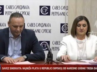 Савез Синдиката: Најнижа плата у Српској треба да буде 550 КМ