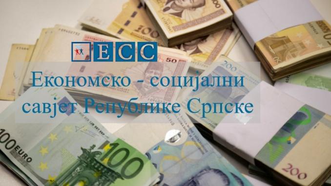 Сутра ванредна сједница Економско-социјалног савјета