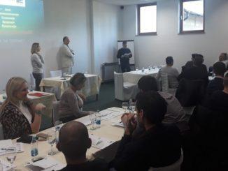 """Održan seminar na temu """"Jačanja kapaciteta sindikalnih organizacija Sindikata pravosuđa Republike Srpske """""""