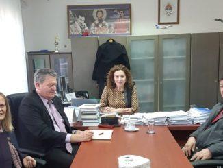 """Tane Peulić u radnoj posjeti preduzeću """" ORAO """" Bijeljina"""