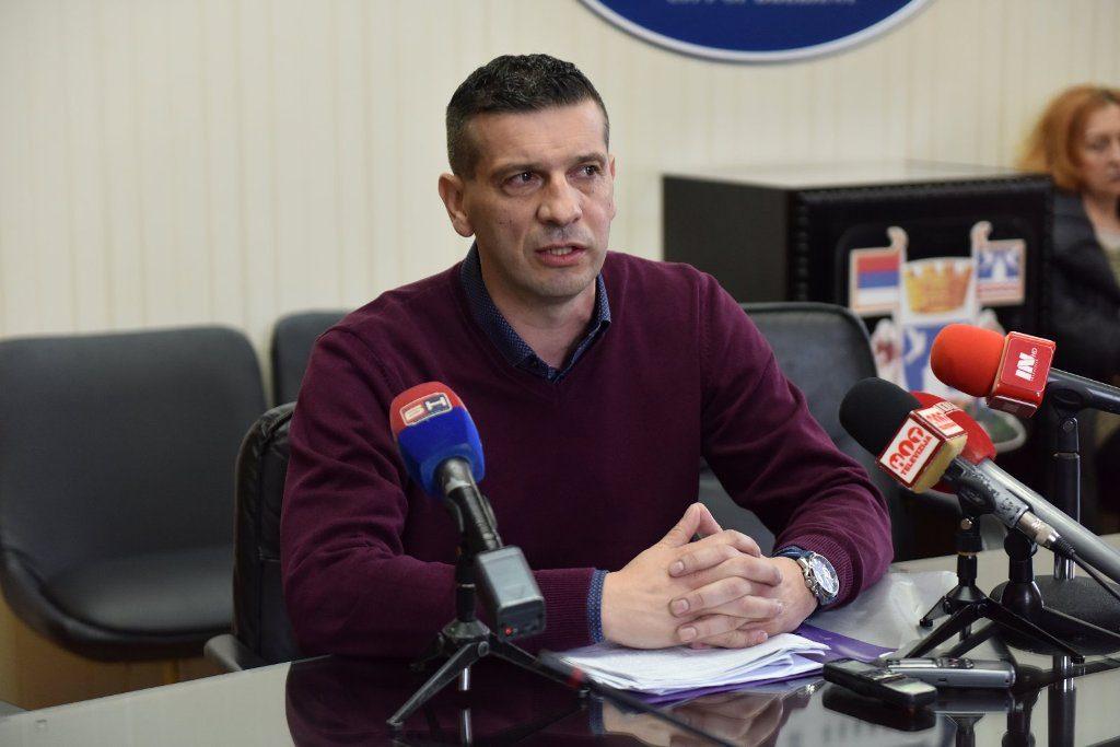 Бранко Зеленовић, предсједник Синдиката локалне самоуправе, управе и јавних служби РС (Фото: Инфо Бијељина)