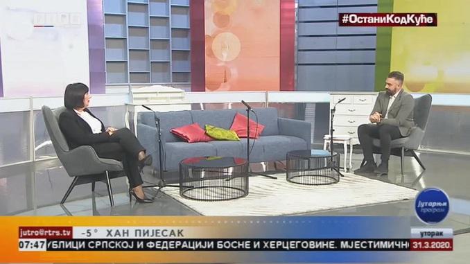 Ранка Мишић за РТРС: Важно је да радници у Српској добију своје плате и да нема отпуштања радника