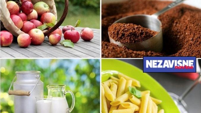 """Analiza """"Nezavisnih"""": U Srpskoj u aprilu narasle cijene brojnih namirnica"""