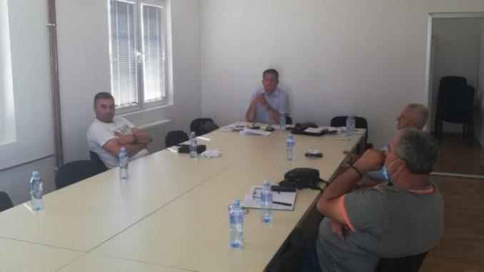 Састанак синдикалног одбора ЕФТ рудник и термоелектрана Станари