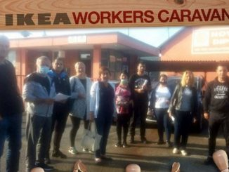"""Кампања Међународне организације грађевинарства и шумарства (BWI) - IKEA, Прича """"Раднички караван"""""""