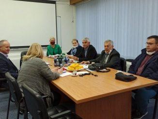 Састанак представника синдиката и пословодства Конзума