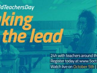 Preuzimanje vođstva: Nastavnici širom svijeta okupljaju se kako bi obilježili Svjetski dan učitelja 2020.