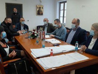 U Višegradu održan sastanak predstavnika Saveza sindikata Republike Srpske sa načelnikom opštine Višegrad i sindikalnom organizacijom