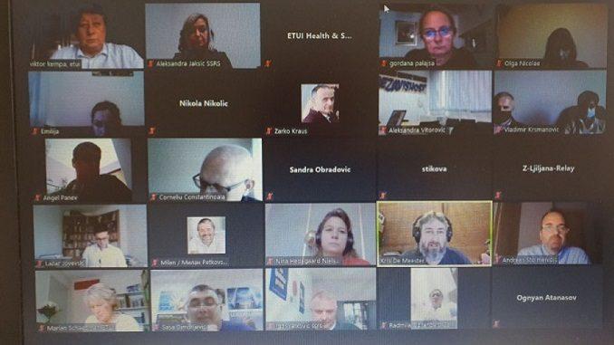 Virtuelni Regionalni forum za razmjenu informacija o bezbjednosti i zdravlju na radu