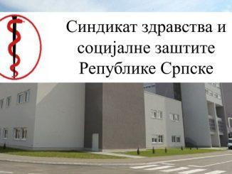 Saopštenje za javnost Sindikata zdravstva i socijalne zaštite Republike Srpske