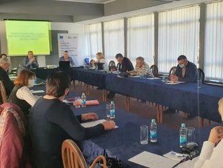 Представљање Нацрта стратегије заштите и здравља на раду у Републици Српској за период 2021-2024. 24.фебруар 2021.године, Требиње