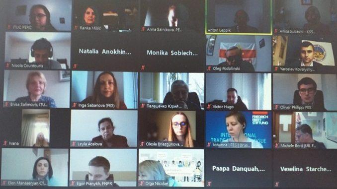 Нова стварност рада у паневропском региону: рад на даљину – изазови и прописи, Виртуална конференција, 15. и 16. април 2021.
