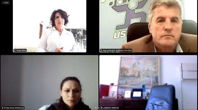 Виртуелна пленарна сједница Регионалног синдикалног савјета Солидарност