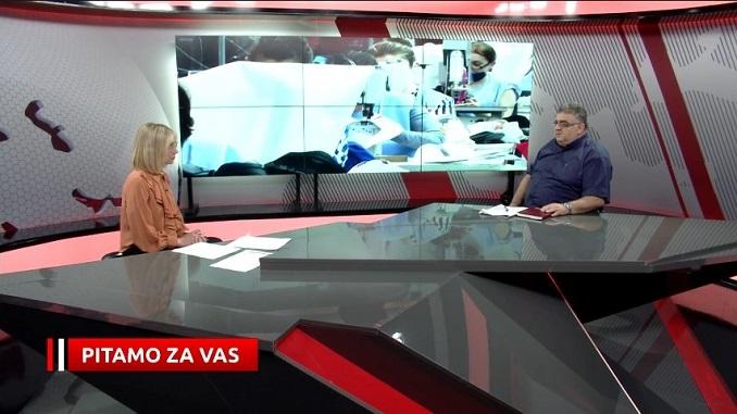 """Драган Гњатић, гост емисије """"Питамо за вас"""" АТВ 25.05.2021. - Поздрављамо повећање плата - настављамо рад на побољшању материјалног статуса чланова синдиката"""
