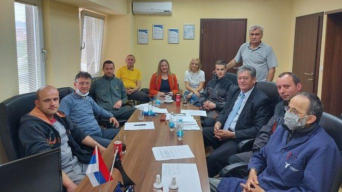 Изабрано синдикално руководтсво у ТРБ Братунац