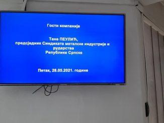 Sjednica Republičkog odbora Sindikata metalske industrije i rudarstva Republike Srpske, Zvornik 28.05.2021.