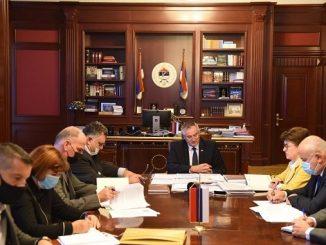 Predsjednici granskih sindikata budžetskih i fondovskih korisnika Saveza sindikata Republike Srpske nastavljaju pregovore sa resornim ministrima